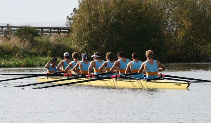 Training at Henley River